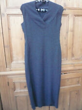 NARCISCO RODRIGUEZ 8 dress Tall length ex display beautiful exquisite soft wool
