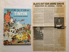 BD - L'aventure du Journal de Tintin 40 ans de BD + article Inventeur / HERGE