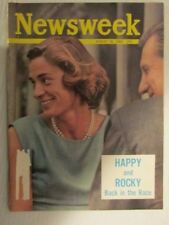 Newsweek Magazine August 26, 1963,  Nelson Rockefeller back in the race