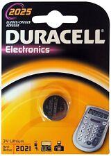BATTERY DURACELL LITHIUM BUTTON 1 PC. 2025 DL2025 CR2025 ECR2025 KCR2025 BR2025