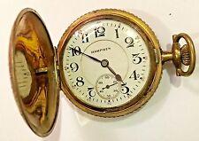 HAMPDEN  POCKET WATCH  1881