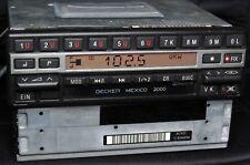 Autoradio BECKER MEXICO be 1430 CASSETTA, doppio sintonizzatore, scheda di codice, Video Test, TOP