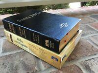 "BIBLIA REINA VALERA 1960 RVR60 LETRA GIGANTE Tamano 5 x 8"" Indice Piel Fabricada"