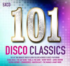 101 DISCO CLASSICS: 5CD SET (New Release 2017)