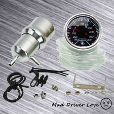SILVER 0-60PSI 200+ POINT ADJUST TURRET TURBO BOOST CONTROLLER+BOOST GAUGE 35PSI