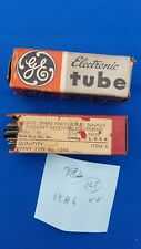 Vintage GE & RCA 12A6 Beam Power Pentode Vacuum Tube - Seco 107 Tested