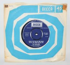 """The Bachelors - Where The Blue Of The Night - 1969 Vinyl 7"""" Single - EX"""