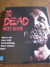 THE DEAD NEXT DOOR with Slipcover (1989) (Locked REGION B Blu-Ray) - BRAND NEW!!