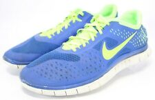 NIKE Free 4.0 V2 Sneakers $190 Men's Running Shoes Size 14 Blue Green