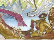 Billy Childish-Uomo nella struttura firmato numerato edizione limitata ART PRINT 2/200