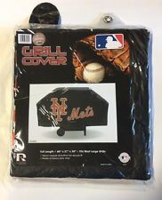 NY New York Mets Economy Team Logo BBQ Gas Propane Grill Cover - NEW