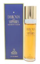 ELIZABETH TAYLOR DIAMONDS & SAPPHIRES EAU DE TOILETTE 100ML SPRAY - WOMEN'S. NEW