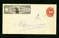 Mexico Stamps on Hidalgo Cover