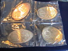 ELONGATED COINS Central States Numismatic Society Fall Show 1997 set of 4 ILNA