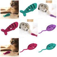 Aikiou Katzenspielzeug Maus Fisch Cat Toy mouse fish Kauspielzeug für Zähne