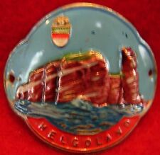 Helgoland used badge mount stocknagel hiking medallion G5200