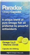 Paradox Omega 3,6,9 1000mg 60 Capsules