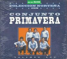Conjunto Primavera Coleccion Nortena Vol 1 Box set 3CD New Nuevo sealed