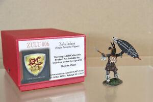 CONTE COLLECTIBLES 006 ZULU WAR Zulu INDUNA SINGLE POWERFUL FIGURE nz
