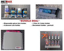 *Plumber Gift* Van Storage Bundle - Glove Box, 4 Can, 1 Gun 4 Tube & Doc. Holder