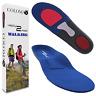 COLOMAX Walking Einlegesohlen Orthopädische Schuheinlage Fußbett Fersensporn