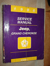 1996 JEEP GRAND CHEROKEE SERVICE MANUAL ORIGINAL SHOP BOOK RARE OEM REPAIR