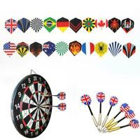 60Pcs / lot Dart Flights in 20 Arten von Mustern Nice Flight Darts Neu Q1X0