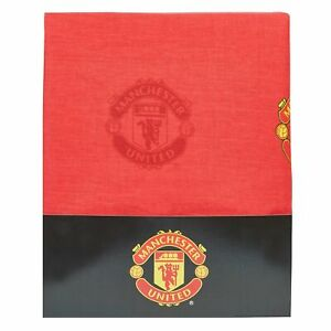 Manchester United Crest Curtain Football Sports Home Decor 72 Inch Drop