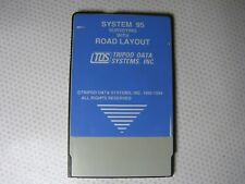 Tds System 95 Road Surveying with Road Layout Program for Hp 200Lx Pc (Rare)