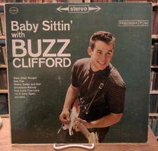 "Buzz Clifford, Baby Sittin With Buzz, Columbia 33"" LP, CS 8416, Demo Copy VG+/NM"