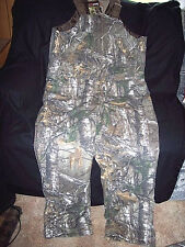 Insulated Bib Overalls Real Tree Camo Bibs Insulated Coveralls Camo Bibs 3X Bibs