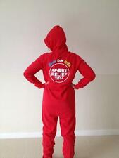 BNWT Red Sport Relief Onesie 2014  Large/med  Size