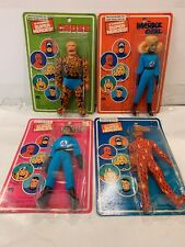 1979 Vintage Mego Fantastic 4 Action Figures Thing Torch Invisible Girl Mr Fanta
