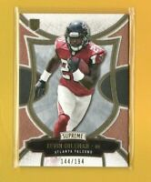 39298 TEVIN COLEMAN 2015 TOPPS SUPREME #76 ROOKIE CARD #144/194