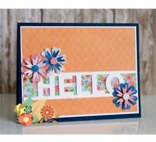 Hello Letters Metal Cutting Dies Stencil Scrapbooking Embossing Paper Card Craft