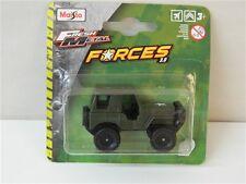 Macchina Fuoristrada MAISTO FRESH METAL FORCES 3.0 mezzi militari verde R108