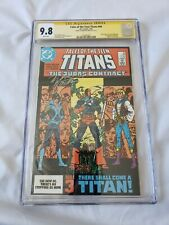 Tales of the Teen Titans #44 CGC 9.8 SS Signed - First Appearance of Nightwing