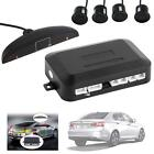 4 Parking Sensor LED Camera Car Reverse Backup Radar System Kit Buzzer Alarm LN