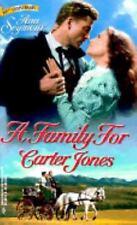 A Family for Carter Jones 98 SEYMOUR HARLEQUIN PB #433