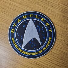 Star Trek Starfleet United Federation Of Planets Logo Patch 3 1/2 inches wide