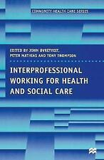 Interprofessional Working in Health and Social Care (Community Health-ExLibrary