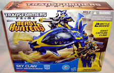 Transformers Prime Beast Hunters Sky Claw With Smokescreen Action Figure MIB Toy