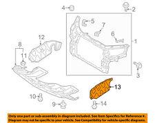 KIA OEM 11-13 Sorento Splash Shield-Engine Side Shield Left 291302P100
