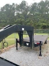 2 Axle Gooseneck Generator Trailer With450 Gallon Built In Fuel Tank New