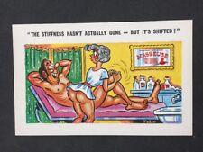 Vintage Postcard: Artist Signed: Pedro #A352: Masseuse