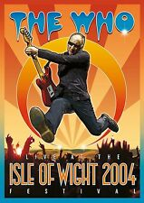 THE WHO 'LIVE AT THE ISLE OF WIGHT FESTIVAL 2004' DVD (2017)