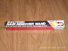 Vintage Emson Electronic Hair Remover Wand Item No. 8668 Original box and Manual