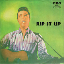 Elvis Presley-Rip It Up (PS) 4 record EP Australian Import (VG+) small hole
