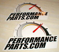 "2 Performance Part.com Decals Stickers 7 1/2"" Long X 4 3/4"" Tall NASCAR NOS"
