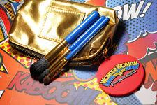 MAC Wonder Woman Makeup Bag Utility Belt Face BRUSH SET 224,213,109SE NIB